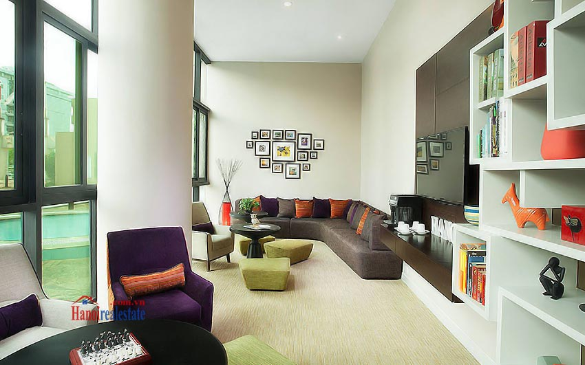 Sommerset Grand Hanoi Serviced apartments Bed