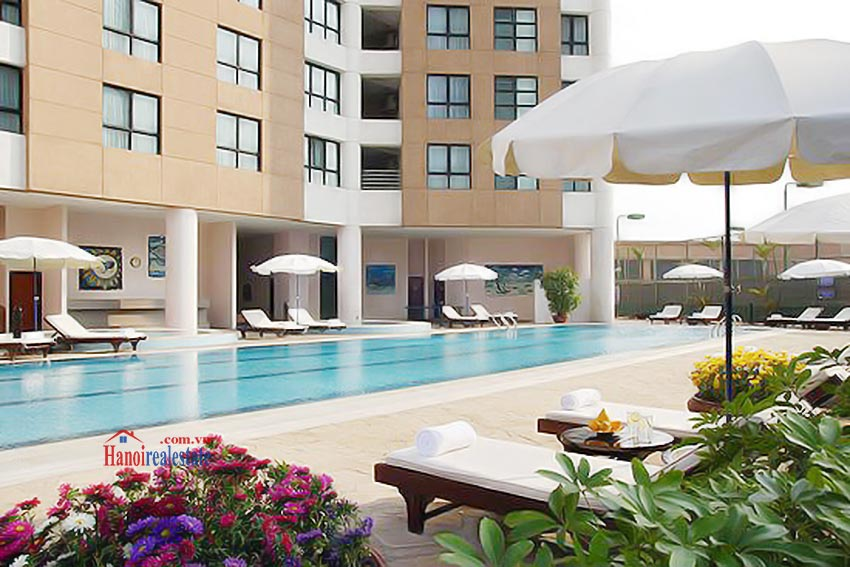 Sommerset Grand Hanoi outdoor Swimming pool