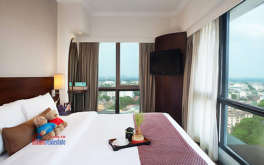 Sommerset Grand Hanoi  apartment view