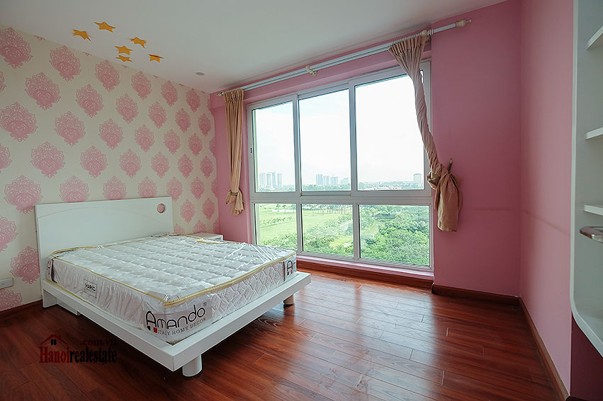 Spacious 04BRs apartment at P2 Ciputra, golf course view 21