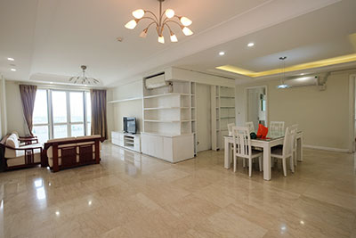 Spacious 04BRs apartment at P2 Ciputra, golf course view