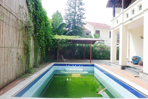 Spacious 04BRs unfurnished villa for rent at Dang Thai Mai, with large garden and swimming pool 13