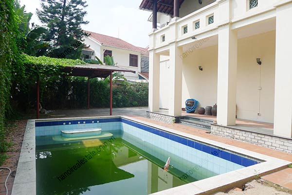 Spacious 04BRs unfurnished villa for rent at Dang Thai Mai, with large garden and swimming pool 14