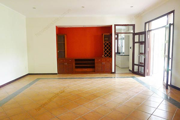 Spacious 04BRs unfurnished villa for rent at Dang Thai Mai, with large garden and swimming pool 21