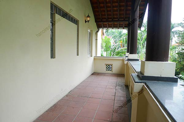 Spacious 04BRs unfurnished villa for rent at Dang Thai Mai, with large garden and swimming pool 11