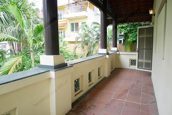 Spacious 04BRs unfurnished villa for rent at Dang Thai Mai, with large garden and swimming pool 12