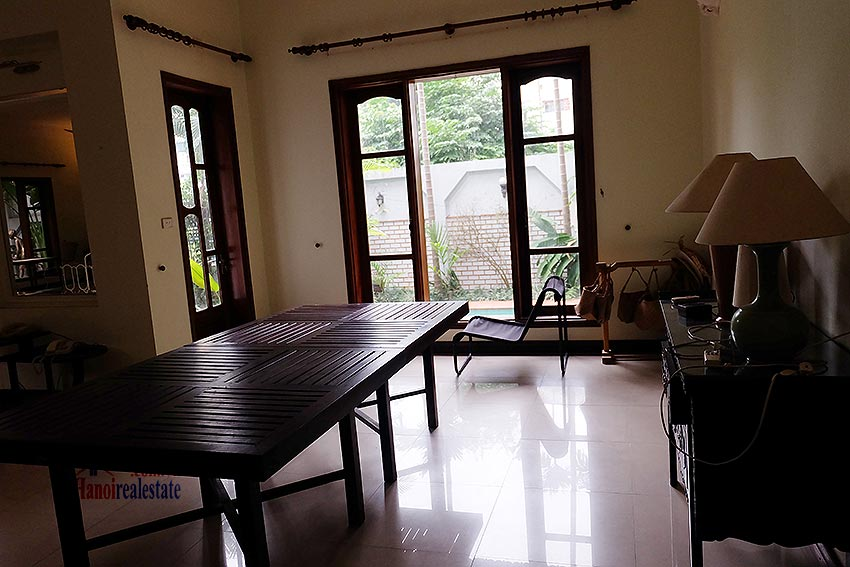 Spacious 04BRs villa with swimming pool at To Ngoc Van, car access 11