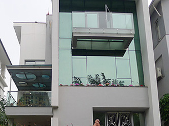 Spacious and modern villa for rent in Vuon Dao urban area, Tay Ho