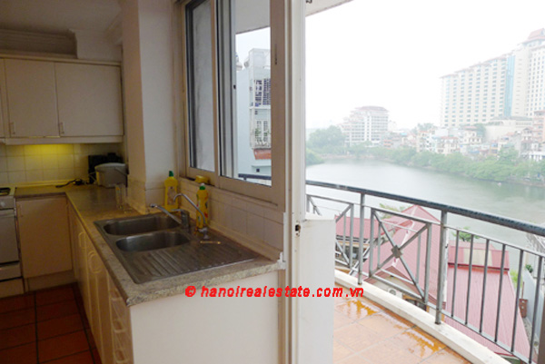 Spacious Lake View apartment includes large living room & big balconies for rent 9