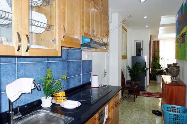 Spacious modern 2 bed apartment for rent in Lang Ha Hanoi 21