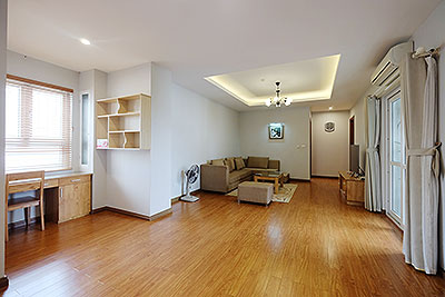 Spacious & Modern 3-bedroom apartment in Hanoi Center, near Vincom Ba Trieu