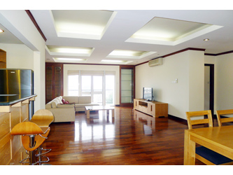 Spacious Serviced Apartment for rent in Hoan Kiem, 3 bedrooms
