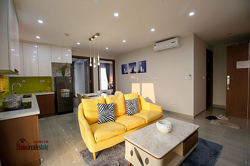 Stunning 02BRs apartment at L3 Ciputra, high floor with balcony 2