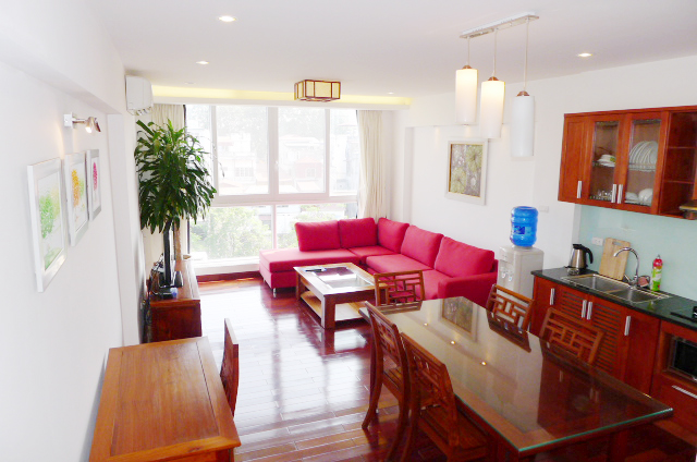Stunning 1 bedroom Apartment to rent in Truc Bach Lake area, Hanoi
