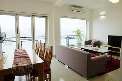 Stunning lake view 02BRs apartment to rent in Tay Ho