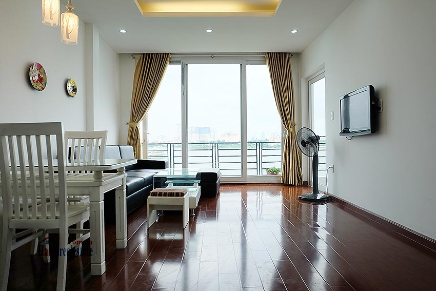 Stunning view 02BRs apartment at Nhat Chieu, with balcony 1