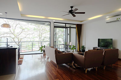 Stunning West Lake View 03-bedroom Apartment on Quang Khanh to rent