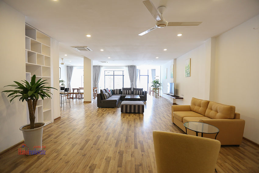 Super spacious and cozy 04BRs apartment on To Ngoc Van, street view 2