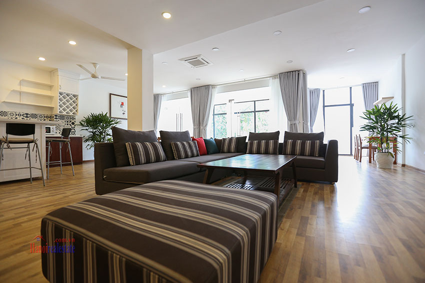 Super spacious and cozy 04BRs apartment on To Ngoc Van, street view 3
