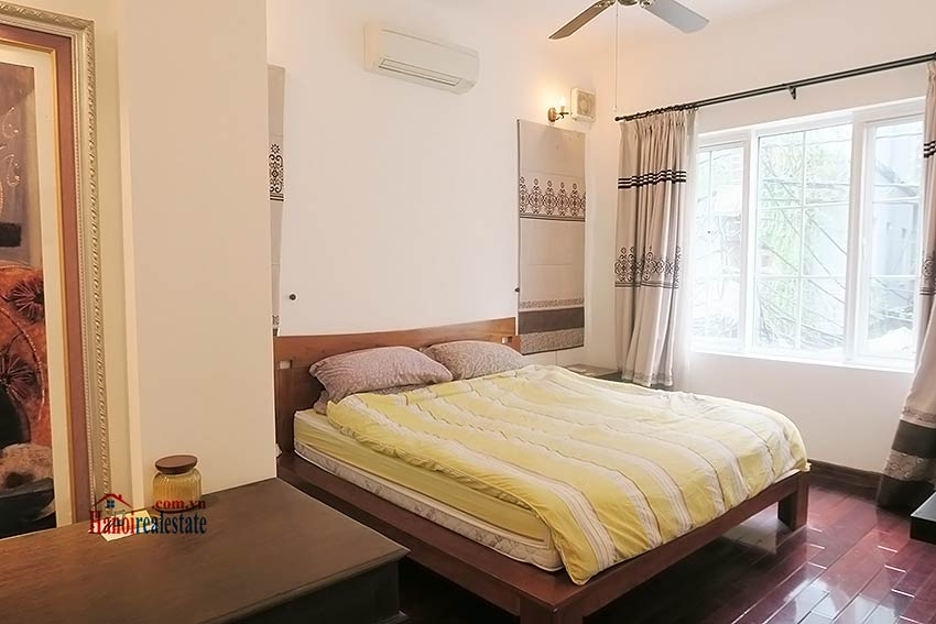 Tay Ho 03 bedroom house to rent, nice terrace and fully furnished 16