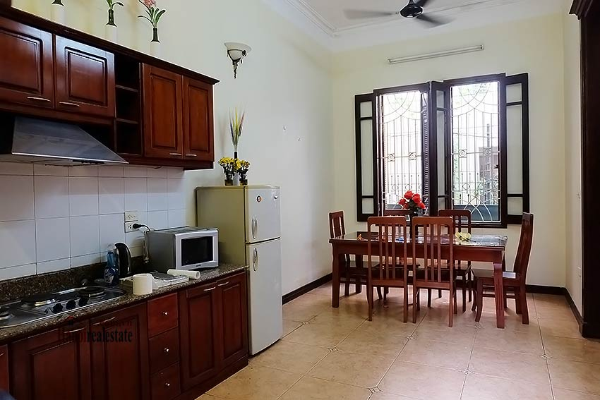 Tay Ho furnished house to let with 03 bedrooms and top floor terrace 7