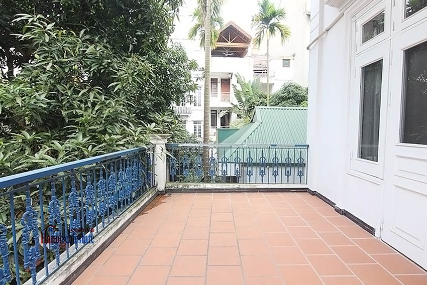 Tay Ho spacious courtyard & Swimming pool house to rent, fully furnished 14