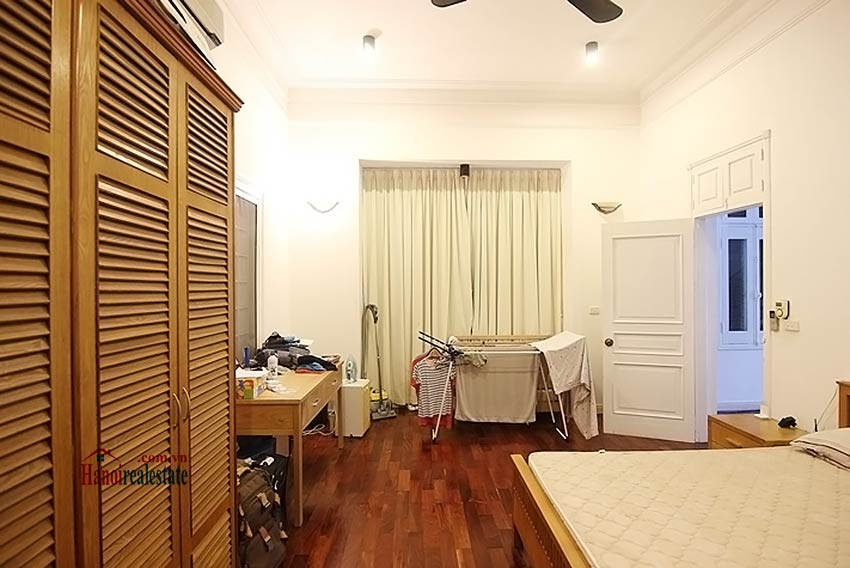 Tay Ho spacious courtyard & Swimming pool house to rent, fully furnished 16