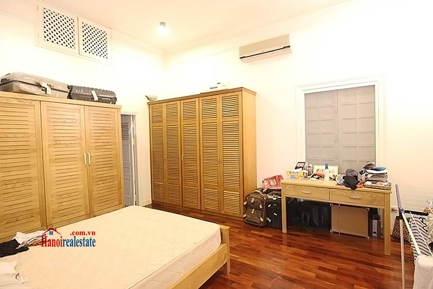 Tay Ho spacious courtyard & Swimming pool house to rent, fully furnished 17