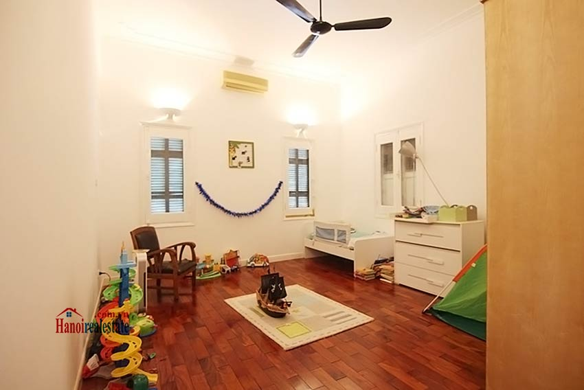 Tay Ho spacious courtyard & Swimming pool house to rent, fully furnished 19