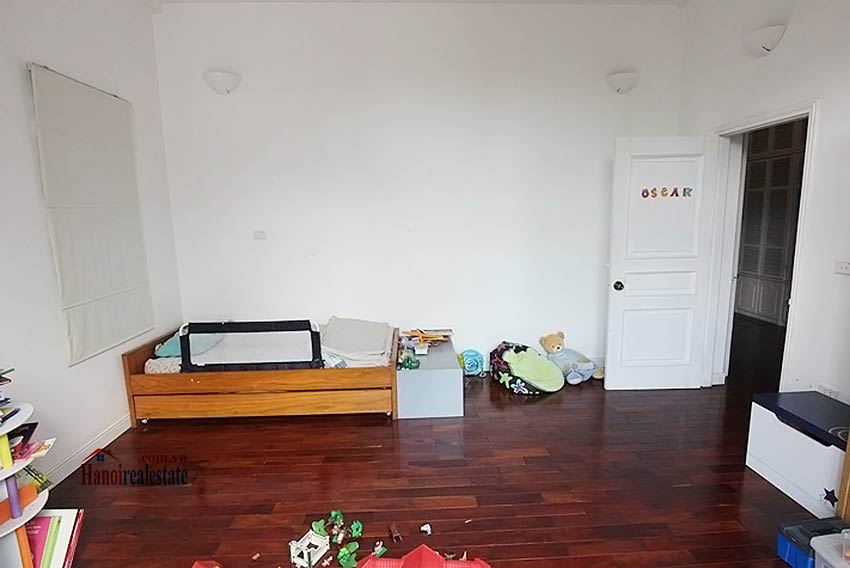 Tay Ho spacious courtyard & Swimming pool house to rent, fully furnished 20