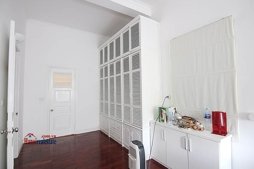 Tay Ho spacious courtyard & Swimming pool house to rent, fully furnished 22