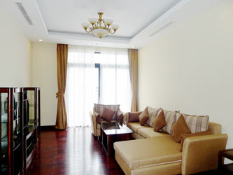 Thanh Xuan District, two bedroom apartment for rent at Royal City Hanoi