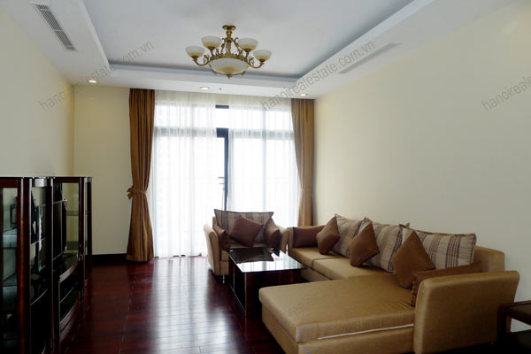 Thanh Xuan District, two bedroom apartment for rent at Royal City Hanoi 1