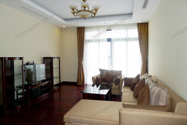 Thanh Xuan District, two bedroom apartment for rent at Royal City Hanoi 2