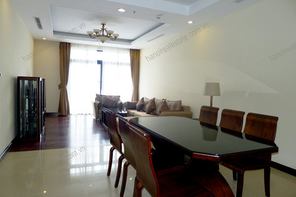Thanh Xuan District, two bedroom apartment for rent at Royal City Hanoi 4