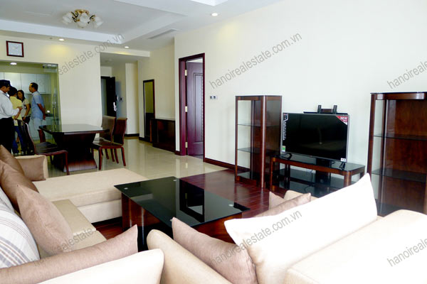 Thanh Xuan District, two bedroom apartment for rent at Royal City Hanoi 5