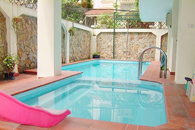 To Ngoc Van: Lovely 05BRs villa with swimming pool. Semi furnished