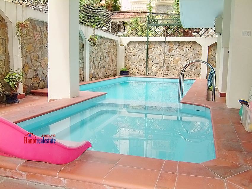To Ngoc Van: Lovely 05BRs villa with swimming pool. Semi furnished 2