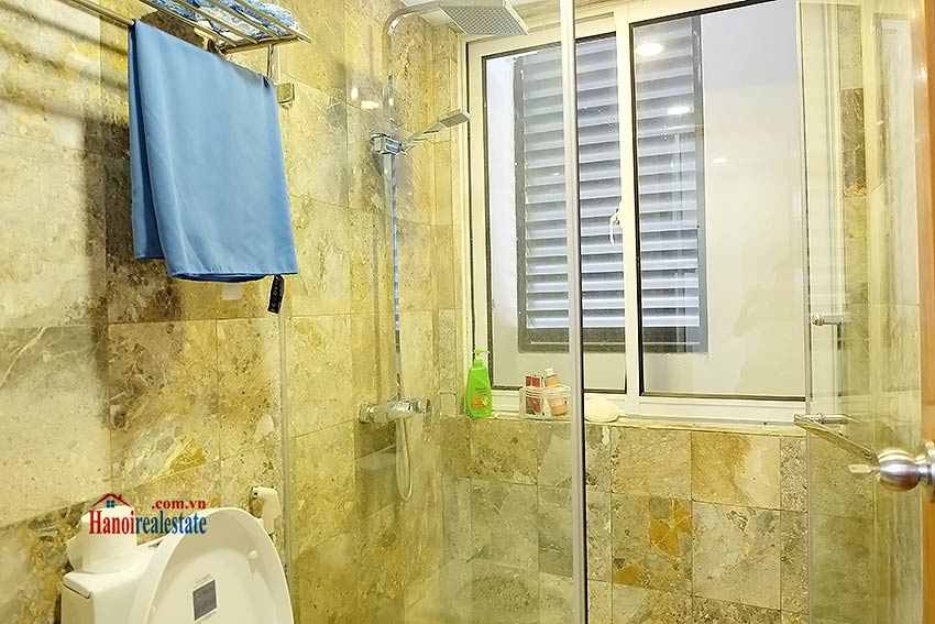 Top floor 01BR apartment in Truc Bach for rent, fully furnished 6