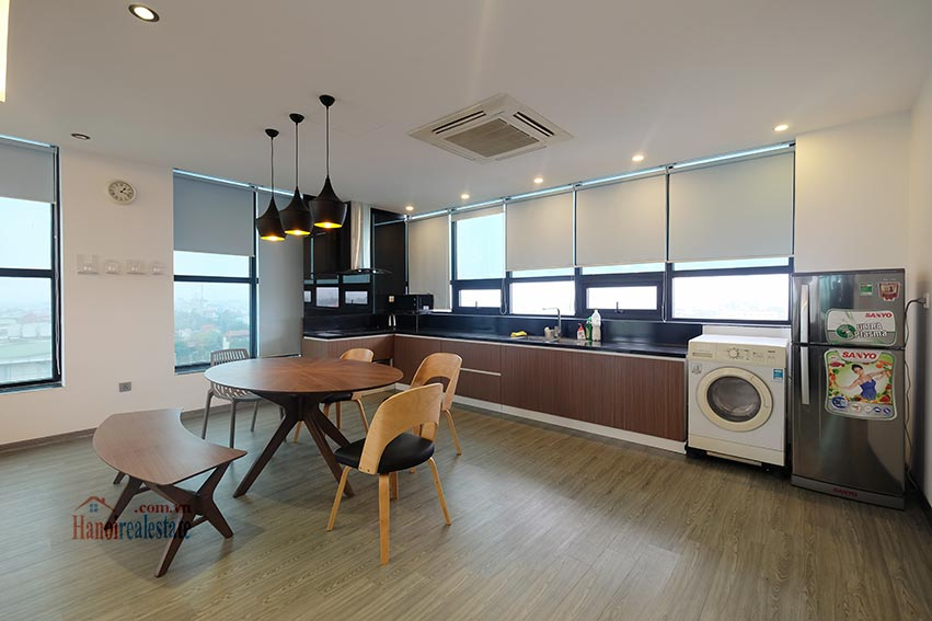 Top floor 2-bedroom apartment for rent in Hoan Kiem, Hanoi 5