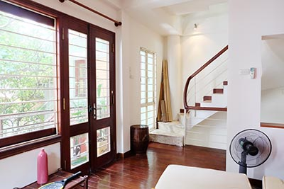 House to rent with nice Terrace in Hoan Kiem, Near French Embassy