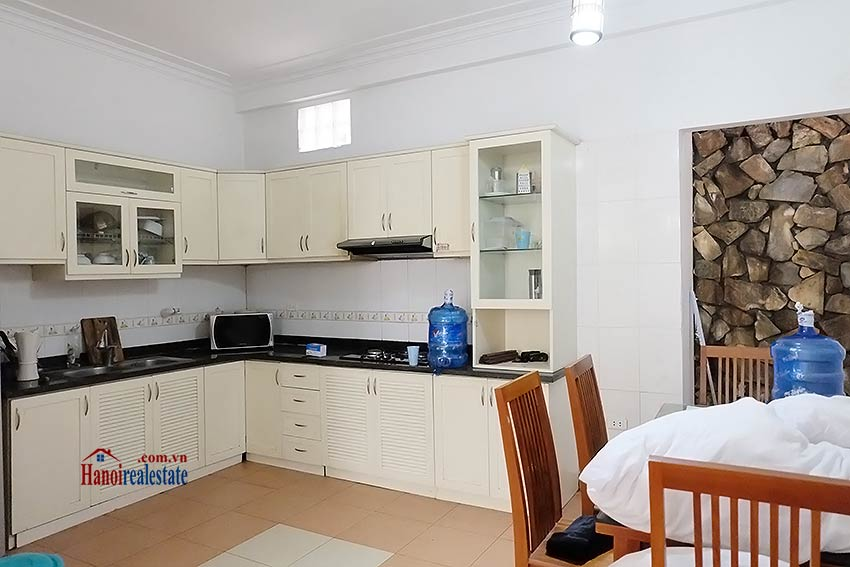 Top floor terrace 04 bedroom house to let in Tay Ho with fully furnished 6