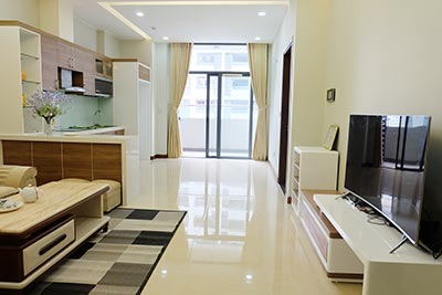 Trang An Complex: Bright 02 + 1BRs apartment, brand new