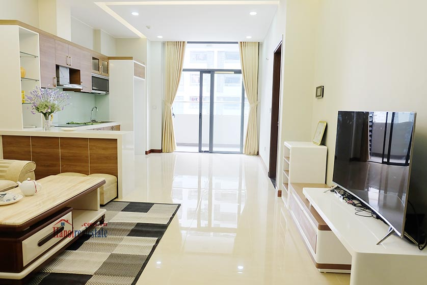 Trang An Complex: Bright 02 + 1BRs apartment, brand new 1