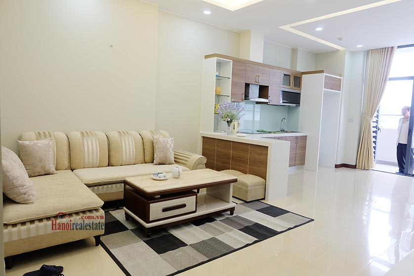 Trang An Complex: Bright 02 + 1BRs apartment, brand new 3