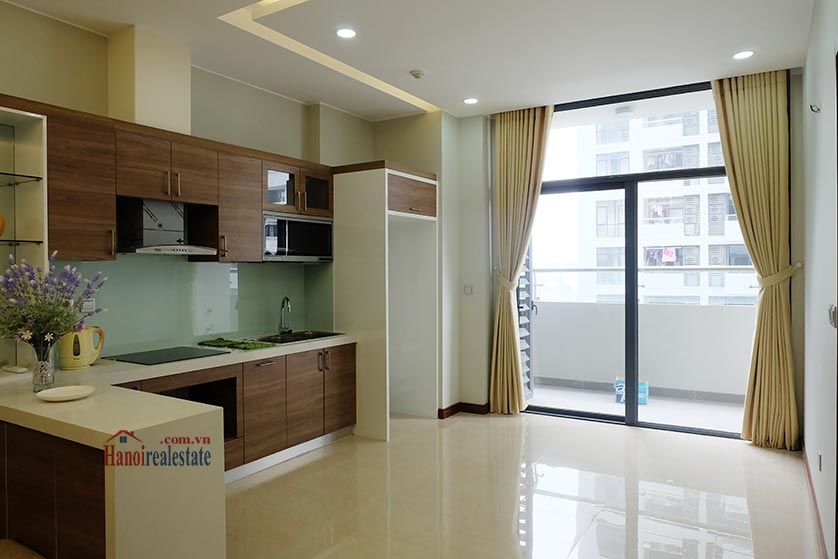 Trang An Complex: Bright 02 + 1BRs apartment, brand new 6