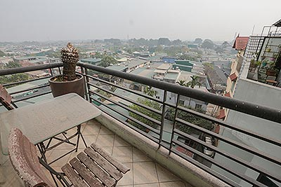 Two bedroom apartment for rent in 236 Au Co, near Lion Mall, Flower Market
