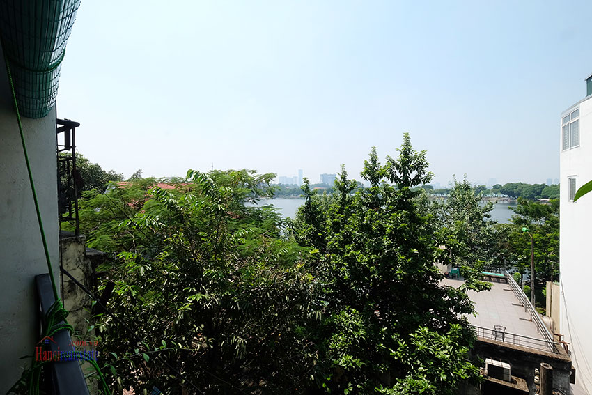 Unique duplex apartment with lake view and balcony in Truc Bach 4