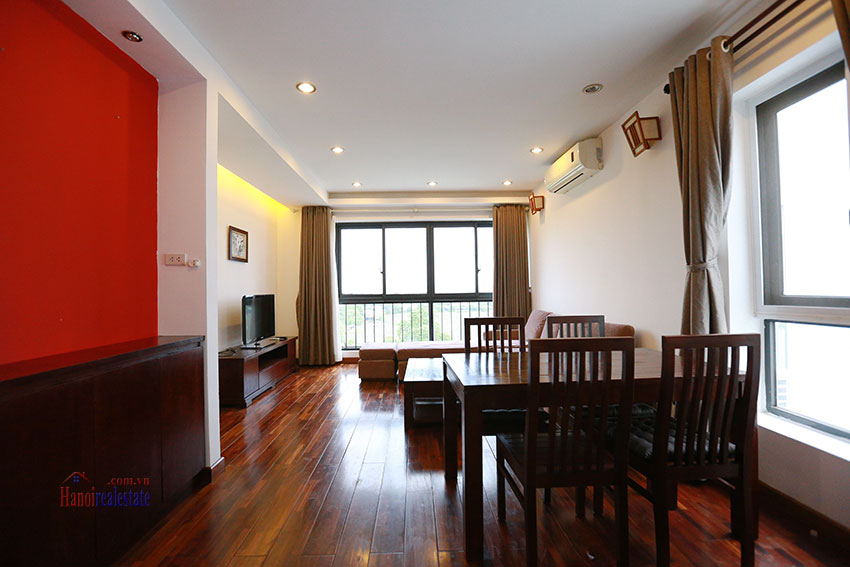 Unlimited view 2 bedroom apartment on and spacious Xom Chua Road, quiet and friendly residence 1