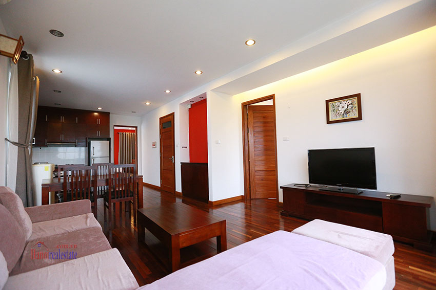 Unlimited view 2 bedroom apartment on and spacious Xom Chua Road, quiet and friendly residence 3